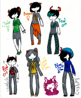 Homestuck fan-troll adopts- CHEAP! by MonsterRadio