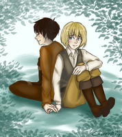 One day we'll see the outside world, Armin by Gwendoly