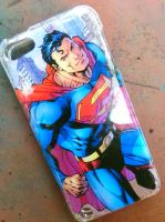 Superman iPod Case by MoriahsGlitch