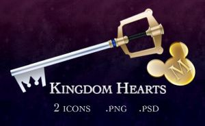 Kingdom Hearts Icons by edenprojects