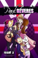 The Paul Reveres Issue 2 Cover by jiggly