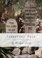 pack - 006 Tombstone by thalija-STOCK