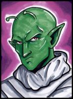 Mini Piccolo sketch card by lubyelfears
