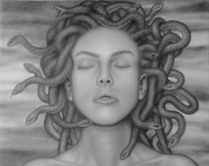 The face of Medusa