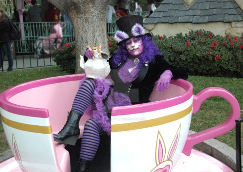 The Mad Cheshire Cat in the Hat by artemis1138