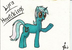 Lyra Heartstrings Watercolour by fimoman