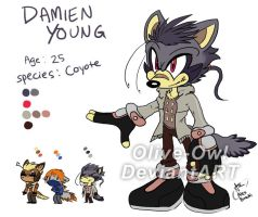 Damien the Coyote reference by Olive-Owl