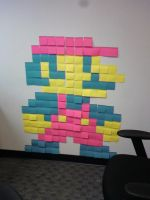 Just for Fun: Mario Post-it by JoeHoganArt