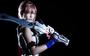Final Fantasy XIII - Lightning by rescend