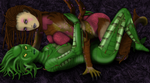 Sil and Kerrigan sexy time! by Hellraiser-89