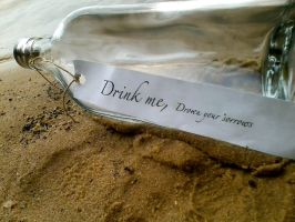 Drink me, Drown your sorrows 1 by Petpettails123