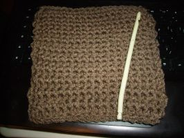 Woodcrafted Potholder by KitWolfren