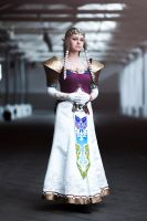 Cosplay: Princess Zelda by Angels-Leaf