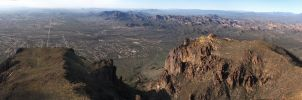 View from Superstition Mountain by eRality