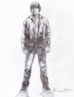 Sam Winchester Pencils by ncajayon