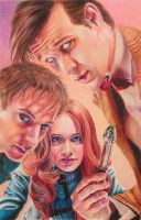 The Doctor, Amy, and Rory by Miranda-McDiarmid