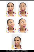 Cin - Funny Head Shots (Pack 2) by MadSDesignz
