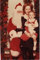 My Mom, Myself and Santa! by Moonbeam13
