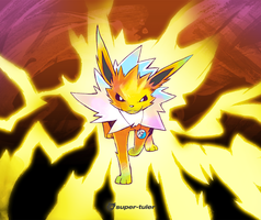 Auri the Jolteon by super-tuler