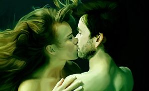 Underwater Kiss by LicieOIC