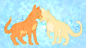 Firestar and Sandstorm by unistar2000