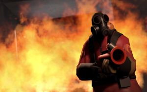 TF2 In Action - Pyro by AmberReaper