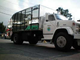 NYC Pimped Out Garbage Truck by pichu912