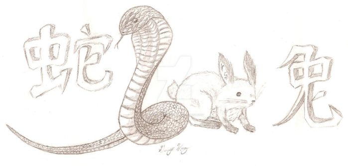 Snake and Rabbit by Tasogares-Target