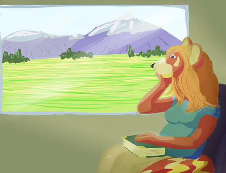 On The Train by Winggal