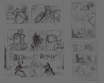 Comic Pages - Rough Sketching by Commander-Bentley
