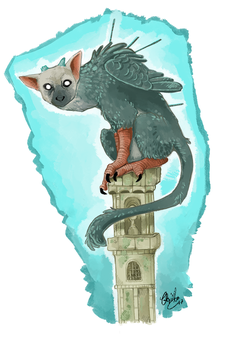 Trico - The Last Guardian by athelo