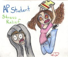 AP Student Stress Relief by KendrawD