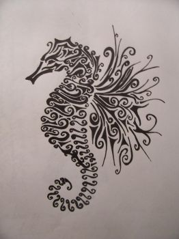 seahorse... by pyrochic127