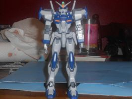 MG duel front view by zanruos