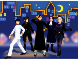 ::+The Sailor Asia Cast.....+:: by Apple-Rings