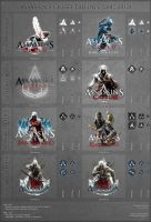 Assassin's Creed Trilogy [2007-2012] by VikingWasDead