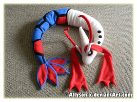 Milotic Plush V2 by Allyson-x