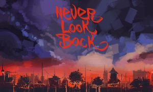 NEVER LOOK BACK by PENSA