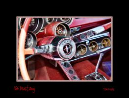 1965 Mustang Dashboard by TomFawls