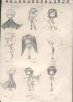 Cados chibis moisis by Halouette