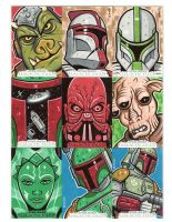 Star Wars sketch cards 6 by JasonGoad