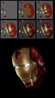 Ironman WIP Process by Auffallend