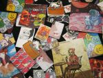 Stickers from old artworks by space-monkey