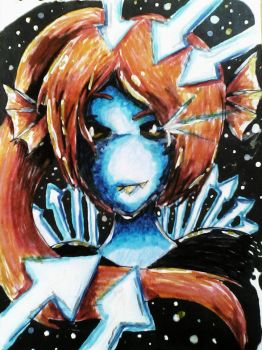 Undyne Undying by MariaCool1234