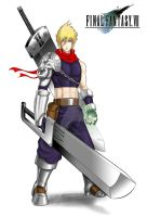 Cloud Strife - Overpowered by DricheeChung