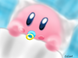 Baby Kirby by Zelda5