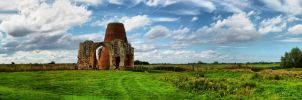 St. Benet's Abbey by VikklePickle