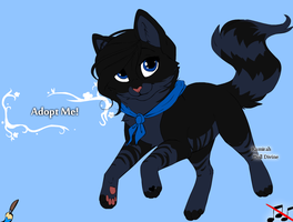 Cat Adoptable! CLOSED! by tiiqer