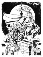 Captain Carrot and the Spectacular Spider-ham by deankotz