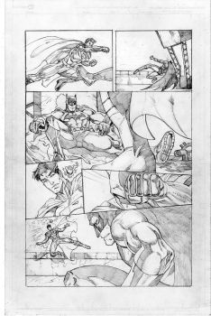 Supermanvsbatman Pg2 by kevjartproductions